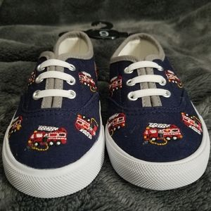 Other - Firetruck Slip Ons